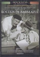 DVD - Los Lios De Barba Azul NEW Coleccion Mexico En Pantalla FAST SHIPPING !