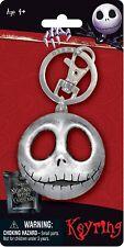 Disney NBC Jack Head  Nightmare Before Christmas Keychain
