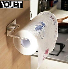 YOULET 304 steel Self Adhesive Kitchen towel Holders  Toilet Paper roll