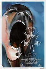 PINK FLOYD THE WALL (1982) ORIGINAL MOVIE POSTER  -  FOLDED
