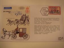 Military Issue Int'l Stamp Exhibition '80 FDC By Air From HQ BFPO - By Coach