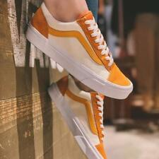 Vans Style 36 Retro Sport Amberglow/Gold Men's Classic Skate Shoes Size 10