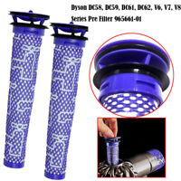 Washable Pre Motor Filter For Dyson V7 V6 V8 Animal Cordless Handheld Vac DC58