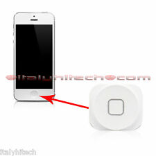 TASTO HOME BUTTON BIANCO WHITE PER IPHONE 5 5G A1428 / A1429