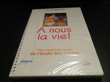 """DVD NEUF """"A NOUS LA VIE"""" 5 films adaptés des romans de l'ecole des loisirs"""