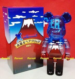 Medicom Be@rbrick Fuji Skytree Fujisan 400% Aka Sola Mount Mountain Bearbrick