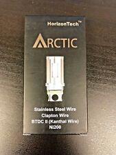 (5-Pack) Horizon Arctic BTDC 2 Clapton Coils .5ohm Authentic US SELLER
