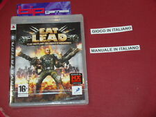 EAT LEAD PS3 PLAYSTATION 3 PAL NUOVO SIGILLATO