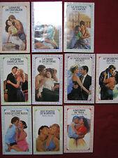 Lot -  10 livres Littérature sentimentale - Collection passion
