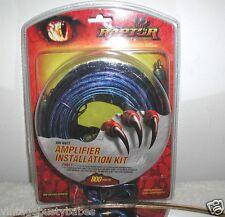 800 Watt Amplifier Installation Kit, Pkbl1,by Raptor, New In Package!