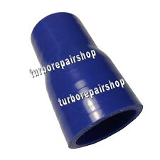 """4PLY 1.25"""" to 1.75"""" Reducer Coupler Silicone Silicon Turbo Hose  Pipe 32 to 45mm"""