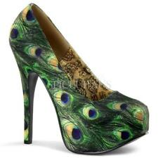 Stiletto Slip On Multi-Colored Heels for Women