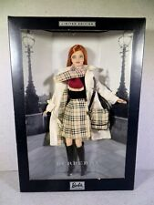 NIB BARBIE DOLL 2000 LIMITED EDITION BURBERRY