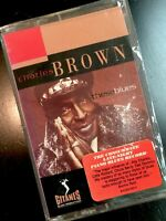 CHARLES BROWN These Blues (Piano Blues Cassette Tape, Verve) SEALED