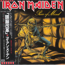 IRON MAIDEN PIECE OF MIND CD MINI LP OBI