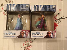 2019 Hallmark Disney Frozen II 2 Anna and Elsa Christmas Ornament Lot NEW