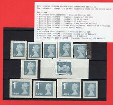 2012 DIAMOND JUBILEE MACHIN Set of 11v Singles - Mint