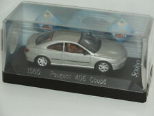 M+B 1/43 toys Diecast metal car SOLIDO PEUGEOT 406 COUPE PININFARINA ref 1560