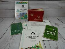 Vintage Girl Scout Collection 1980's Western Reserve Akron Ohio Stationery Jotte