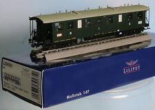 Liliput 334561-Piste h0-Badischer Eilzug. W. 1./2./3. classe, 4 achs., vert, PE. 1