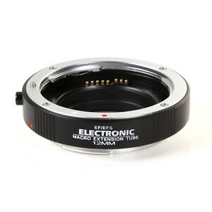 Auto Focus Macro Extension Tube Adapter 12mm EF-12 DG II For Canon EOS EF EF-S