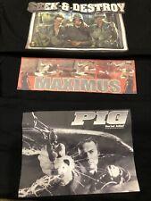 Serial killer t shirt vintage Brand New lot Platoons Dirty Harry Gladiator