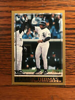 1998 Topps #20 Frank Thomas Baseball Card HOF Chicago White Sox Raw