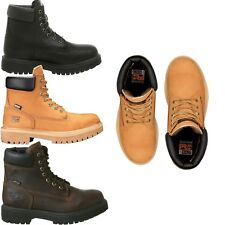 NEW Men's Timberland PRO Direct Attach 6'' Soft Toe Work Boots 200G Insulated WP