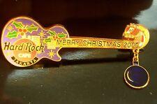 HRC hard rock cafe Jakarta Christmas 2000 Dangling Guitar le500