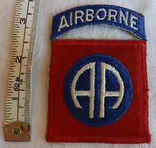 Military WW2 American 82nd / 101st airborne Infantry Division Cloth Badge (1394)