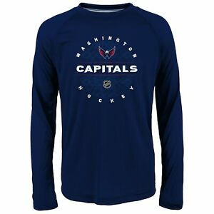 Outerstuff NHL Youth Boys (8-20) Washington Capitals Power Play Ultra Tee