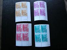 MONACO - timbre yvert et tellier preoblitere n° 42 a 45 x4 n** (Z9) (coin date)