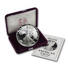 1988-S 1 oz Proof Silver American Eagle (w/Box & COA) - SKU #1085