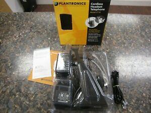 Plantronics CT10 Cordless Headset Telephone #1