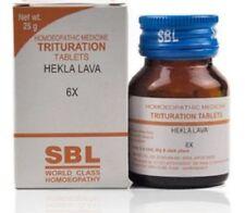 SBL Hekla Lava Trituration Tablet 6X Globules 25 gm