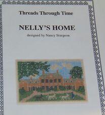 Cross Stitch Pattern / Chart - Nelly's Home - Nancy Sturgeon