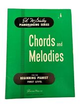 ED MCGINLEY PIANORANGING SERIES: Chords & Melodies Book~Beginning Piano Lessons