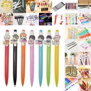 Fashion Cute Ballpoint Gel Ink Pen Pencil Stationary Student Writing Tool School