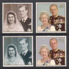 GB MNH STAMP SET 1997 QEII Golden Wedding SG 2011-2014 UMM