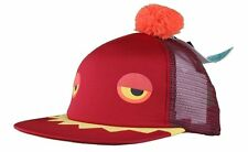 Neff Maroon Red Monster Cap Snapback Hat