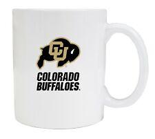 Colorado Buffaloes Coffee Mug-NCAA White Ceramic Mug Set 2 Pack