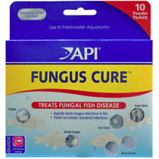 API FUNGUS CURE 10 POWDER PACKET AQUATIC TREATS FUNGAL DISEASE. IN USA