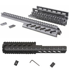 Tactical 4 Sides Picatinny Rails Claw Mount Base Handguard Quad Rail For Airsoft