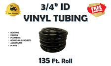 "3/4"" ID-Vinyl Tubing/Hose Smoked Gray  (135' Roll)"
