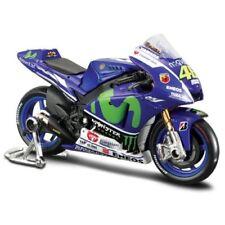 Motocicletas y quads de automodelismo y aeromodelismo color principal azul de escala 1:18