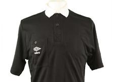 Unworn Vintage Umbro Referee Shirt Black Size M 398 P