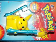 NEW vtg 1990s 1999 Pokemon Pikachu Electric Portable Toothbrush battery operated