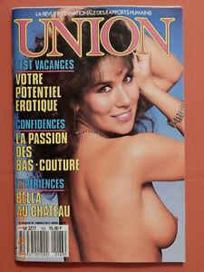Magazine adulte UNION septembre 1987