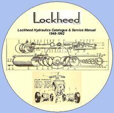 Lock heed Hydraulics Catalogue & Service Manual 1948-1962