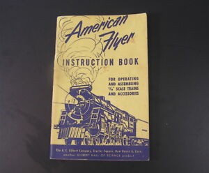 """Booklet """" American Flyer Instruction Book"""", 1952"""